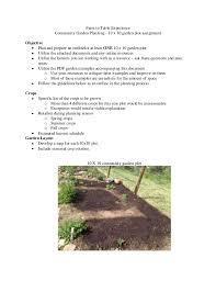 Garden Plot Layout 10x10 Garden Plot Assignment
