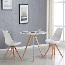 table cuisine ronde blanche table cuisine ronde blanche table a manger plus chaise slowhand