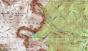 Washington State Topographic Map by Mt Washington New Hampshire Wednesday Hike Trip Report