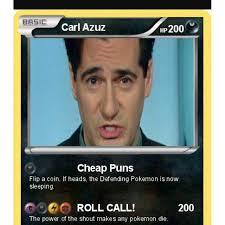 Pokemon Card Memes - carl azuz pokemon card quickmeme
