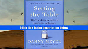 setting the table book amazing setting the table danny meyer free download contemporary
