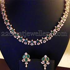 simple diamond sets 41 gms simple diamond set accessorize diamond