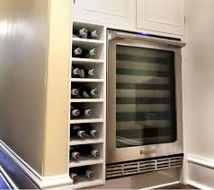kitchen wine rack ideas built in metal wine racks designs for cabinets rack the stylish
