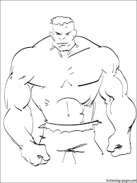 powerful hulk coloring sheet coloring pages