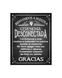 halloween bridal shower invitations spanish welcome to our unplugged ceremony printable wedding