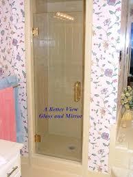 Gold Shower Doors Alabama Order Custom Shower Door Enclosures Framed Frameless