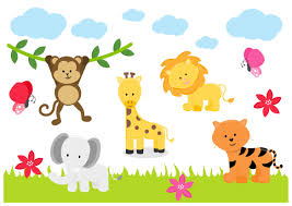 jungle animals zoo lion tiger elephant childrens nursery wall jungle animals zoo lion tiger elephant childrens nursery wall stickers well and truly stuck stickers