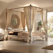 chambre baldaquin distingué lit baldaquin moderne lit baldaquin en teck rotin bambou