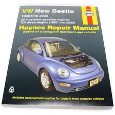 haynes repair manual new vw volkswagen beetle 1998 2010 96009 ebay