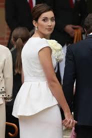 a peplum wedding dress for luxembourg u0027s newest princess