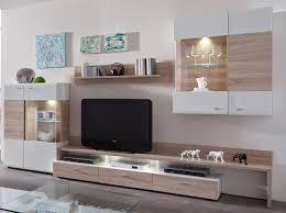 Wohnzimmerschrank Trend 2016 Wohnwand Modern Eiche Ruhbaz Com