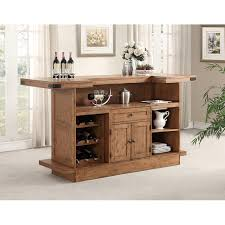 shenandoah bar with built in wine rack by e c i furniture wolf