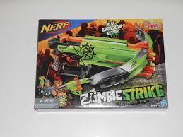 nerf terrascout hasbro a6558 nerf zombie strike crossfire bow ebay