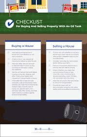 buying and selling property with an oil tank checklist