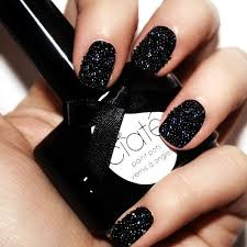 Black Manicure Designs Best 101 Sophisticated Black Nail Designs And Ideas