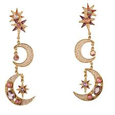 percossi papi earrings diego percossi papi sun and moon earrings no stock dg 1832