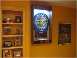 best dart board cabinet cool dart board cabinets home design ideas