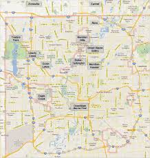 Indiana University Map Scrubmates Neighborhoods