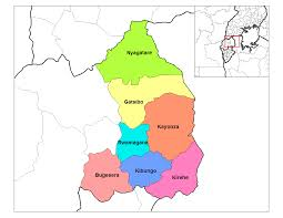 Map Of Rwanda East Province Districts U2022 Mapsof Net