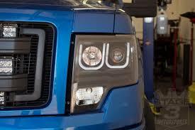 2012 ford f150 projector headlights 2009 2014 f150 svt raptor anzo u bar headlights black 111263