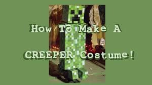 Minecraft Enderman Halloween Costume Creeper Costume Minecraft Tutorial Halloween