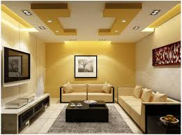 Designer Livingroom by Change The Look With Unique Ceiling Design For Living Room