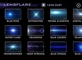 ring light effect app render sophisticated light fx with dual apps lens flare lens