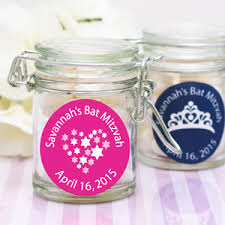bar mitzvah favors personalized bat mitzvah favor jar bar mitzvah bat mitzvah