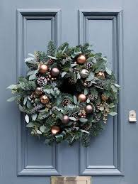 looking for beautiful wreaths here we a
