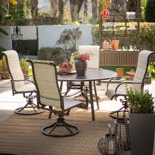 Swivel Patio Dining Chairs Resling Patio Chairs Patio Decoration