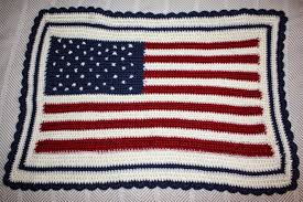 How To Sew A Flag Charm Hour The Granny Square Rectangular Blanket