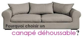 canapé tissu déhoussable pourquoi acheter un canapé déhoussable