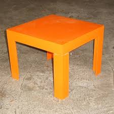 Orange Table L Tables Pearls Of Design