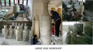 Large Decorative Floor Vases Chinese Ceramic Yellow Colour Large Decorative Floor Vases From