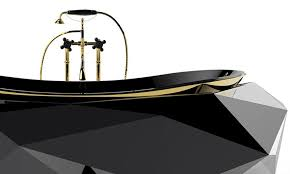 diamond bathtub 5 bizarrely luxurious bathtub designs by maison valentina homecrux