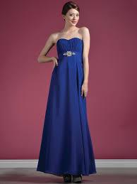 strapless chiffon evening dress sung boutique l a