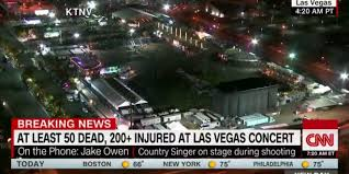 las vegas terror attack at outdoor concert at least 50 dead 200