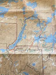 Boundary Waters Map Boundary Waters Part Ii Rain Rain Go Away Little Canoers Want To