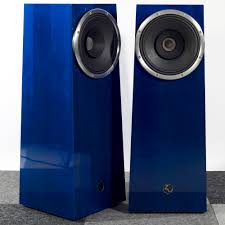 Zu Audio Omen Bookshelf Soul Mk Ii High Gloss Electric Blue Zu Audio
