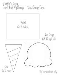 astonishing ice cream cone pattern printable with ice cream cone