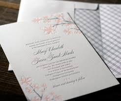 cherry blossom wedding invitations inspiration cherry blossoms united with