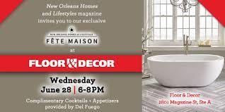 Fete Maison Floor & Decor New Orleans LA