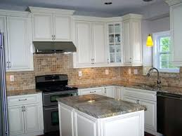 backsplash kitchen backsplash styles ideas black granite white