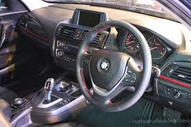 bmw one series india interior of the bmw 1 series indian autos