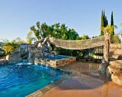 Backyard Pool Landscaping Ideas Diy Backyard Playground Ideas - Backyard playground designs