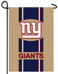 New York Giants Flag Nfl Burlap Garden Flags We U0027re Good Sports