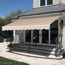 Building Awning Amazon Com Best Choice Products Patio Manual Patio 8 2 U0027x6 5