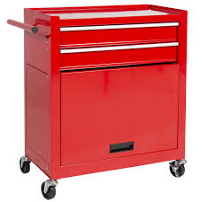 Rolling Storage Cabinet With Drawers Best Choice Products Portable