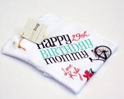 Monogram Baby Items Happy Birthday Mommy Etsy