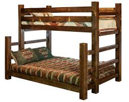 Barnwood Bunk Beds Homestead Timber Frame Bunk Beds Stained Lacquered Or Ready To
